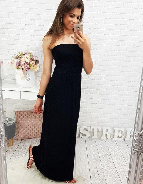 Sukienka Czarna Ey0009 Sklep Online