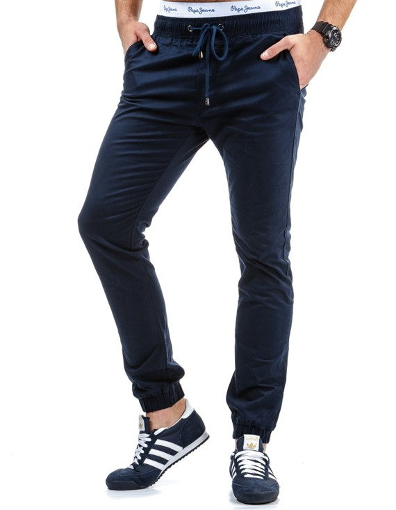 Spodnie M Skie Jogger Chino Granatowe Ux0387 Sklep Online