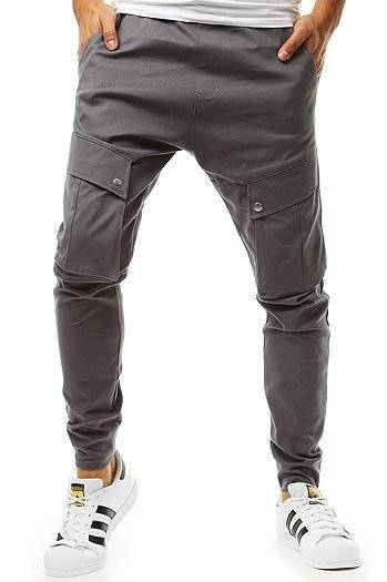 5d2eae7be5a476 Joggery Męskie, spodnie ze ściągaczami (jogger) - Sklep Dstreet.pl