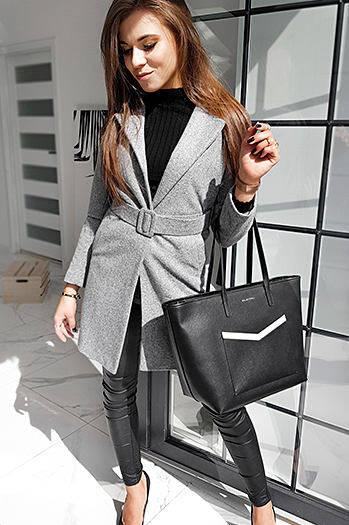 Płaszcz damski jednorzędowy DARIO czerwony NY0370 sklep