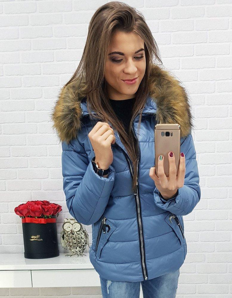 Prešívaná dámska zimná bunda (ty0415)