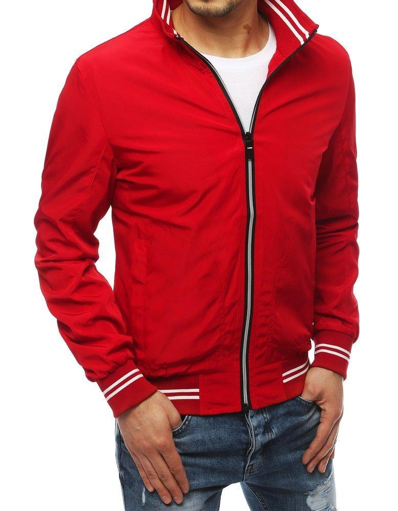 Červená prechodná bunda pre pánov TX3261