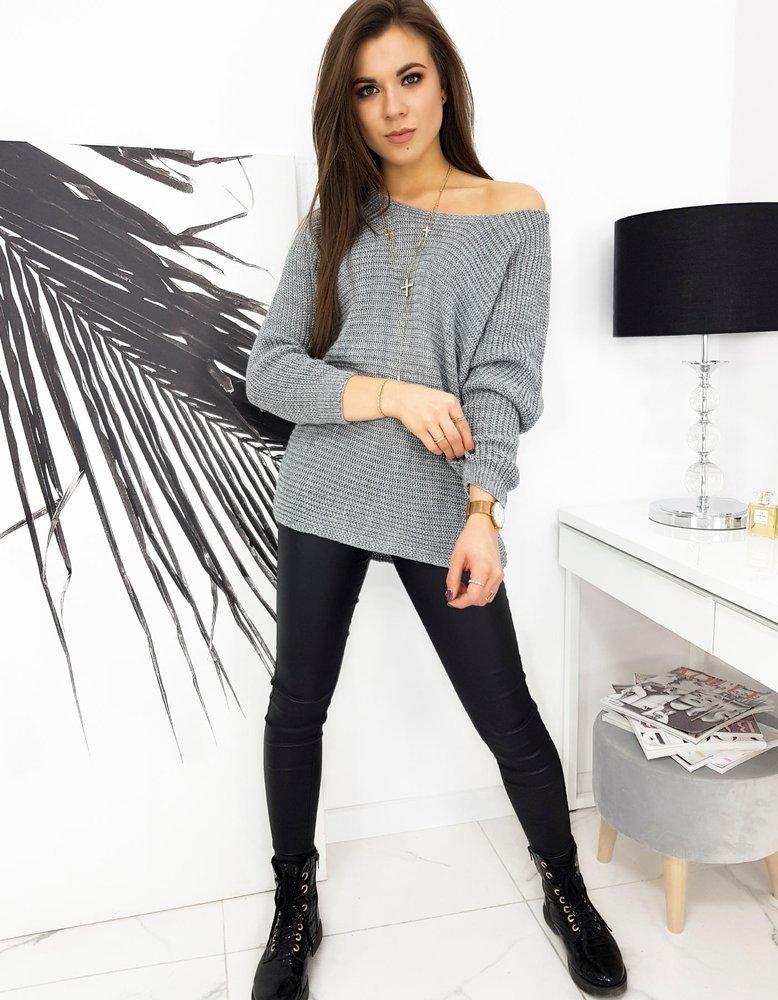 Sweter damski MARLA jasnoszary MY0820