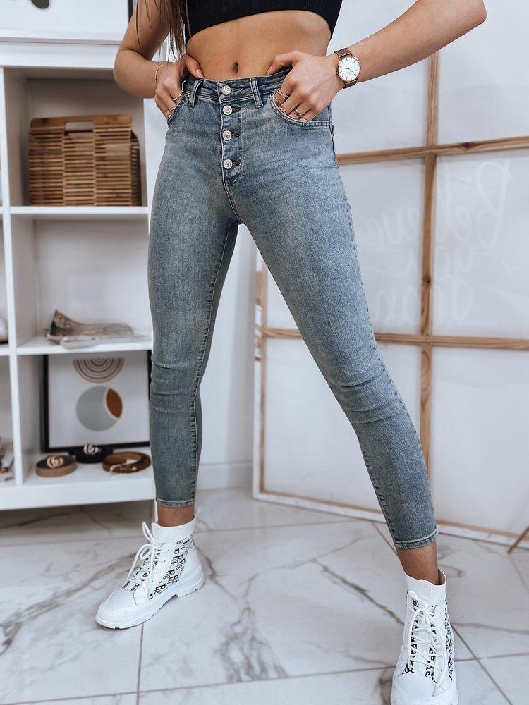 Spodnie damskie TEKSAS niebieskie Dstreet UY0808