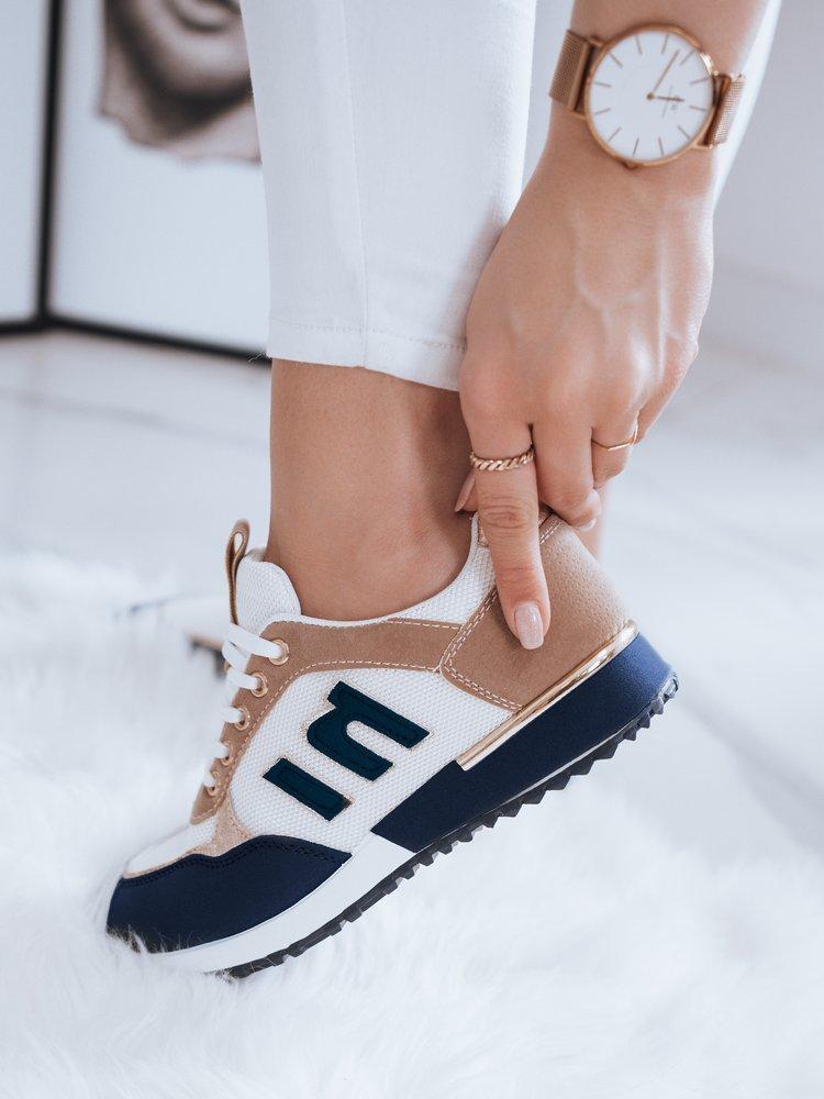 Sneakersy damskie LENSI niebieskie Dstreet ZY0043