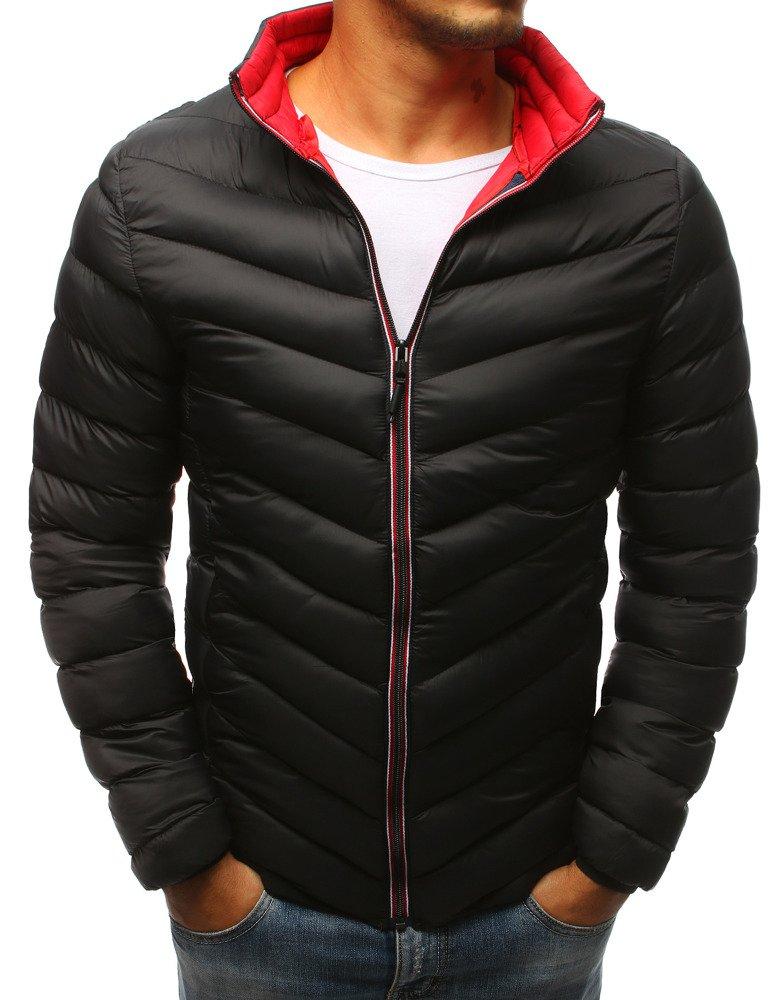 Zimná čierna pánska bunda (tx2377)