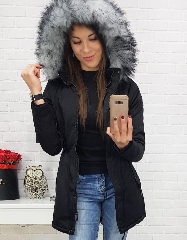Dámska zimná bunda s kapucňou (ty0439)