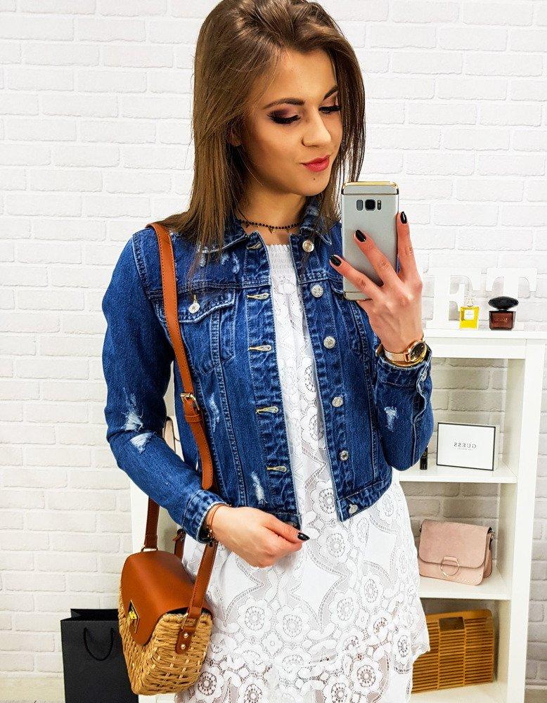 Dámska džínsová bunda (ty0623)