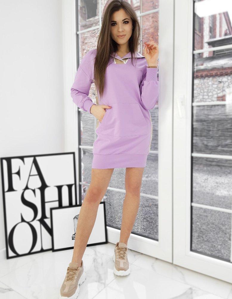 Bluza damska JASMINE liliowa Dstreet BY0747