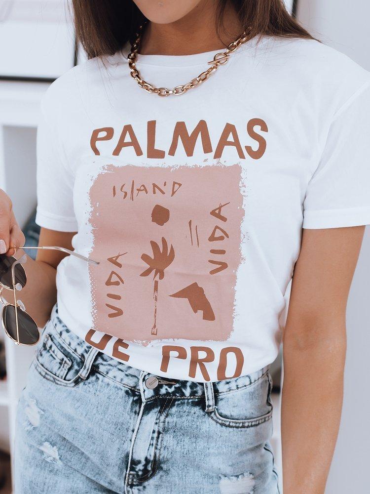 T-shirt damski PALMAS biały Dstreet RY1664