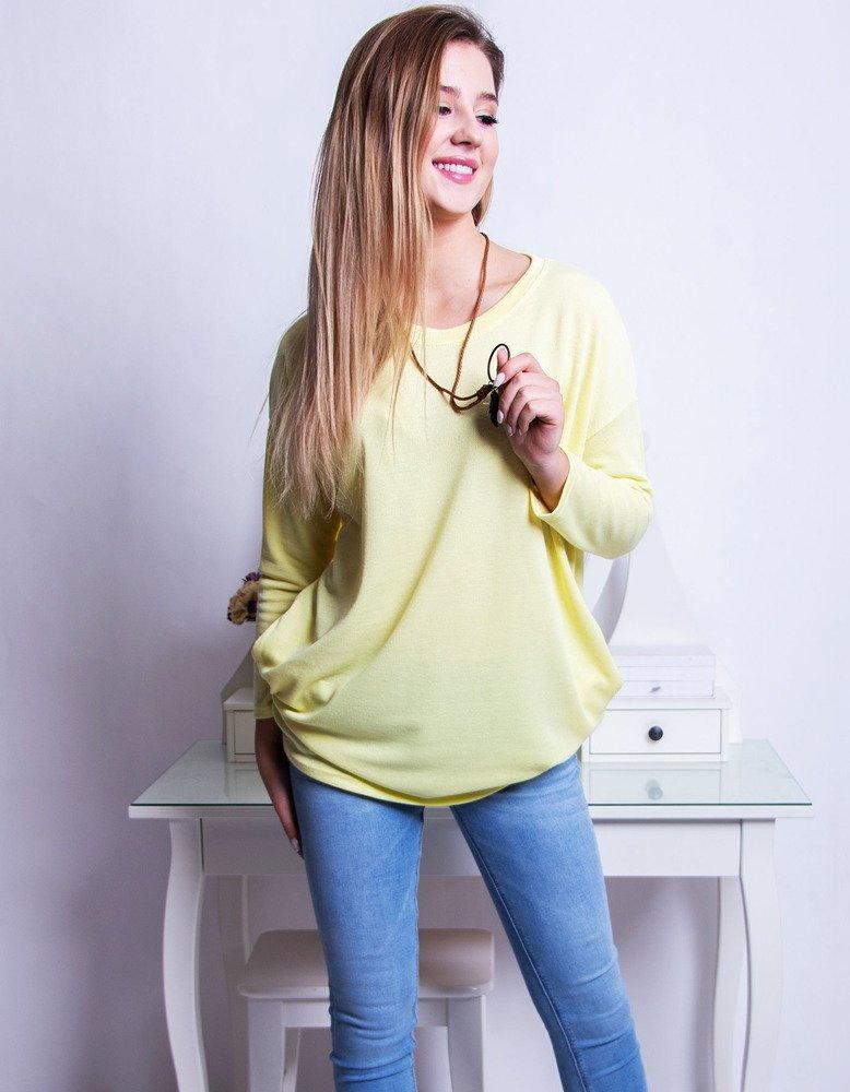 Bluzka damska LIVIA kanarkowa żółta RY0646