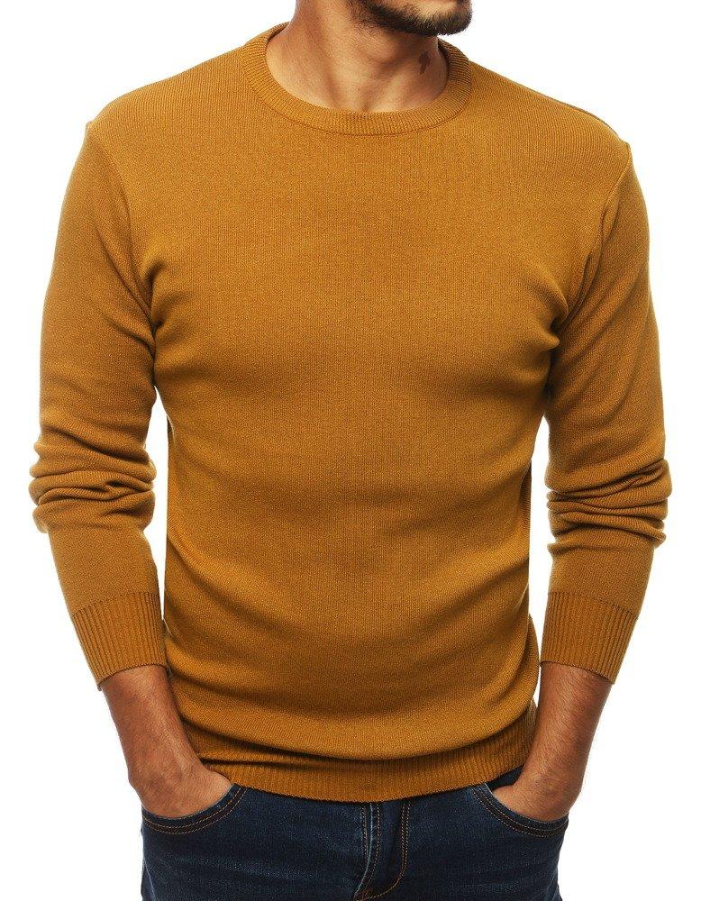 Pánsky sveter horčicový