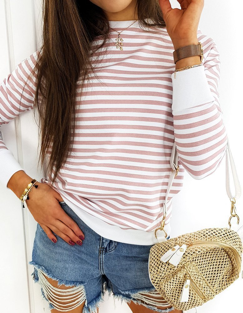 Bluza damska LOVELY MORENO różowa BY0369
