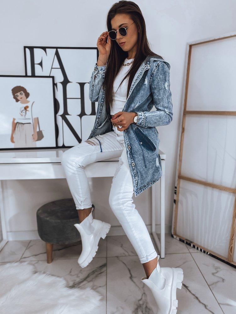 Kurtka damska jeansowa ZAIA jasnoniebieska Dstreet TY1714