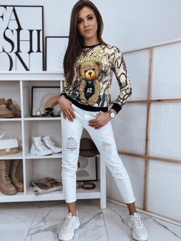 Bluza damska BENJAMIN beżowa Dstreet BY0883