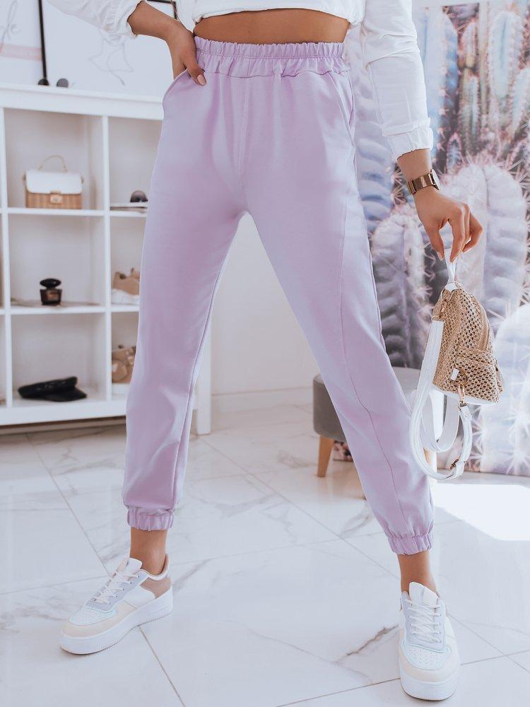 Spodnie damskie dresowe STIVEL lila Dstreet UY0933