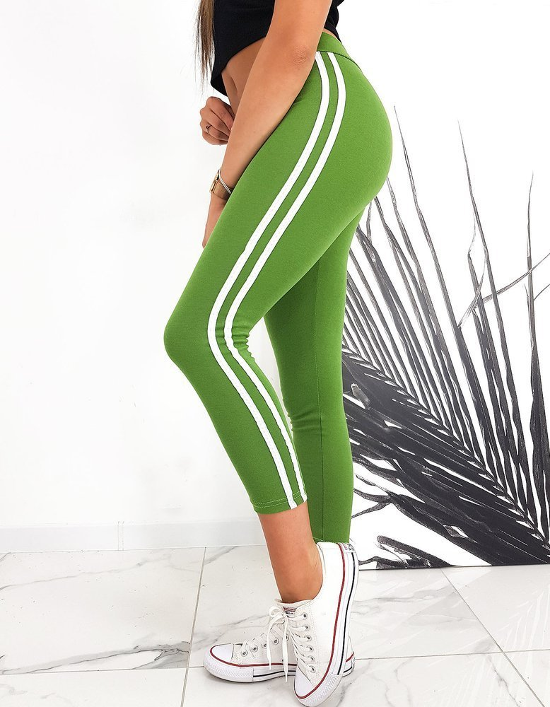 Legginsy damskie BODY'S zielone UY0557