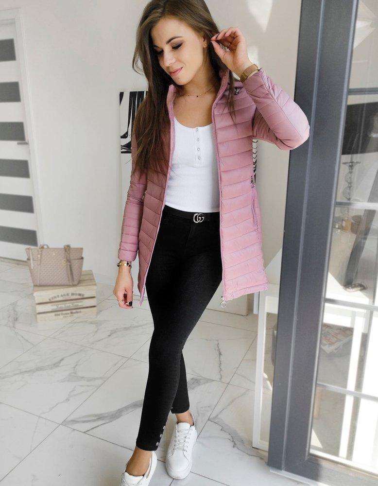 Dámska ružová bunda/kabát MELODI.