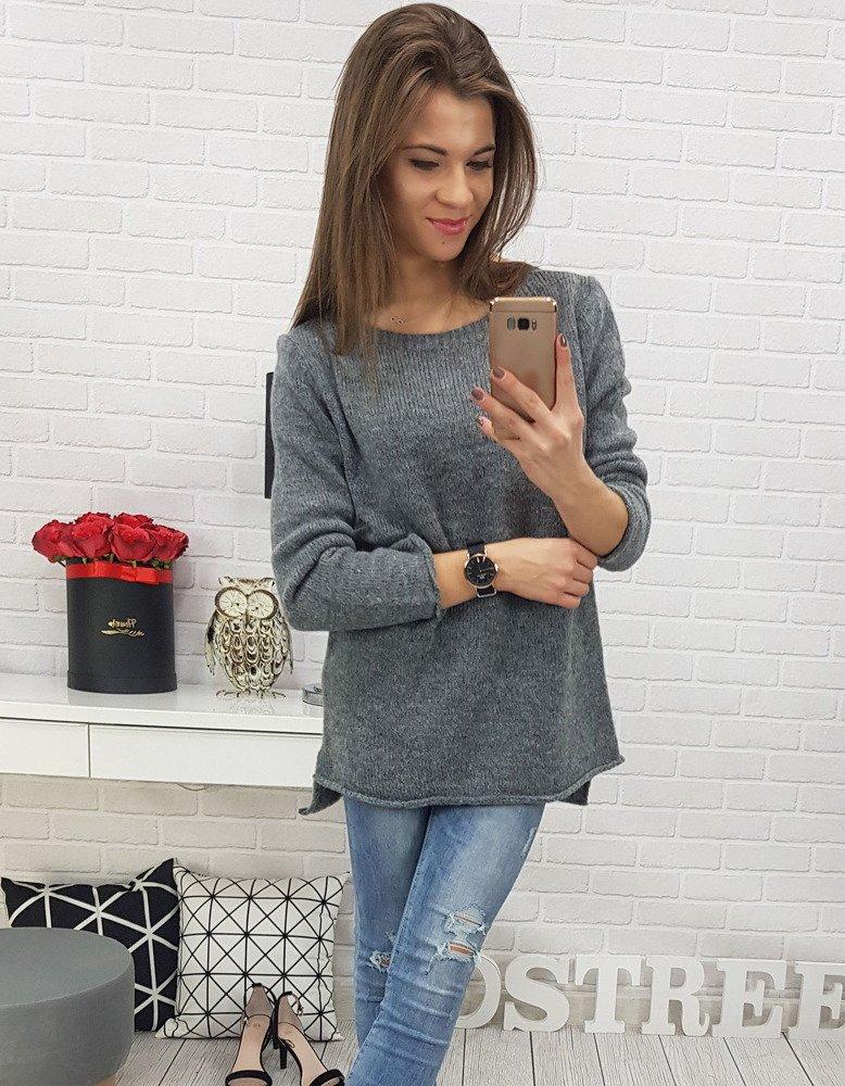 Sweter damski MAYCA antracytowy MY0528