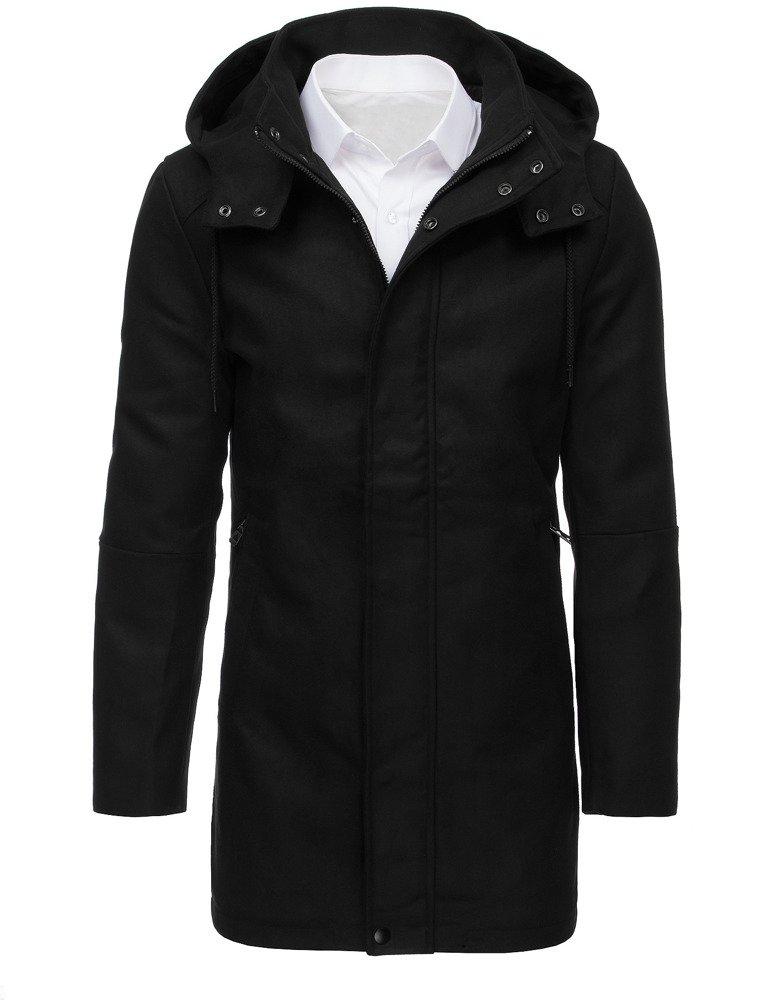 Pánsky zimný kabát čierny