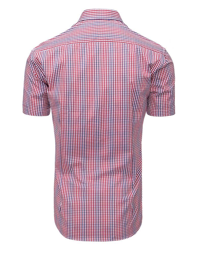 54fe284fc0fa Pánska košeľa modro-červená. 15860  15860  15860
