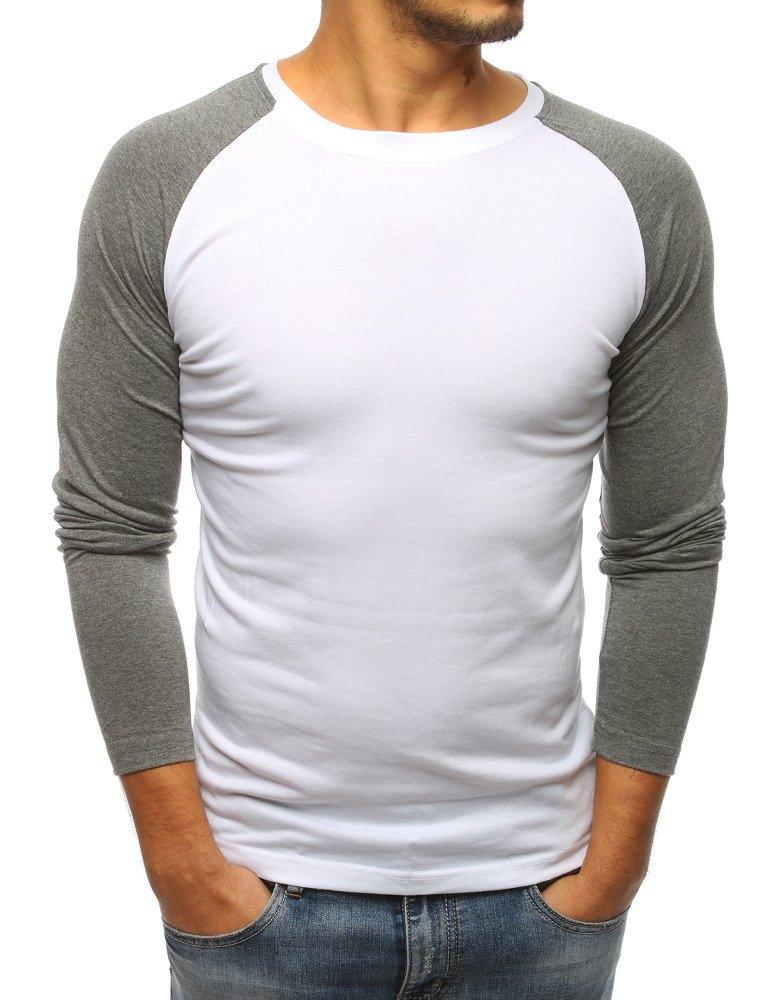 Tričko s dlhým rukávom biele