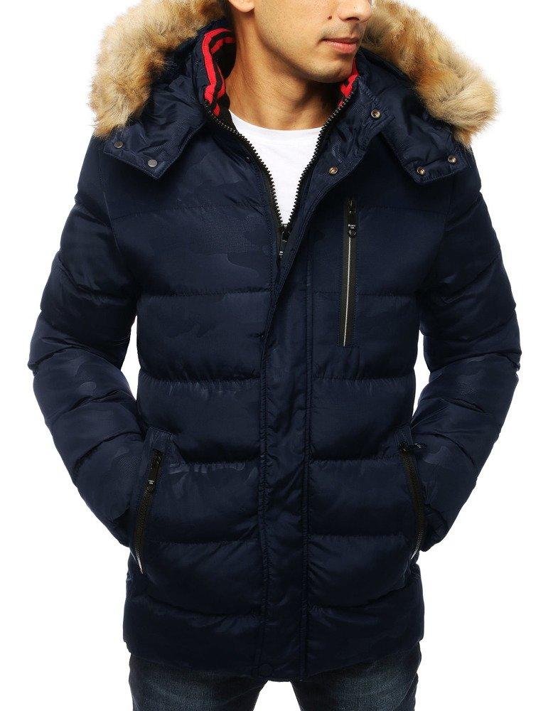 Zimná granátová pánska bunda (tx2954)