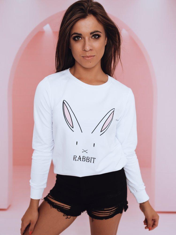 Bluza damska RABBIT biała BY0378