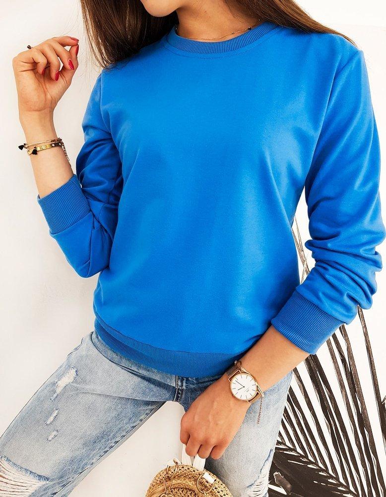 Bluza damska CARDIO jasnoniebieska BY0437