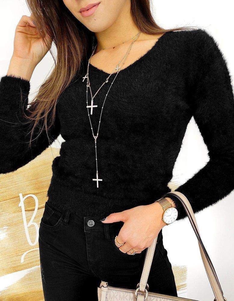 Sweter damski ELLI czarny MY0580
