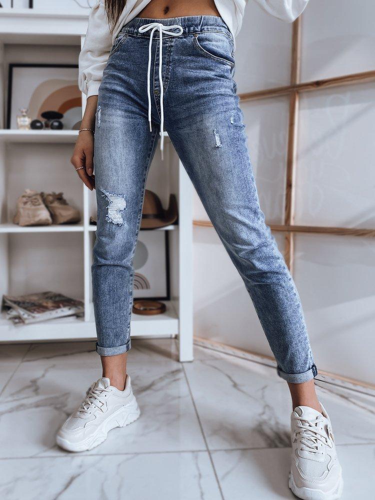 Spodnie damskie jeansowe TANA niebieskie Dstreet UY0800