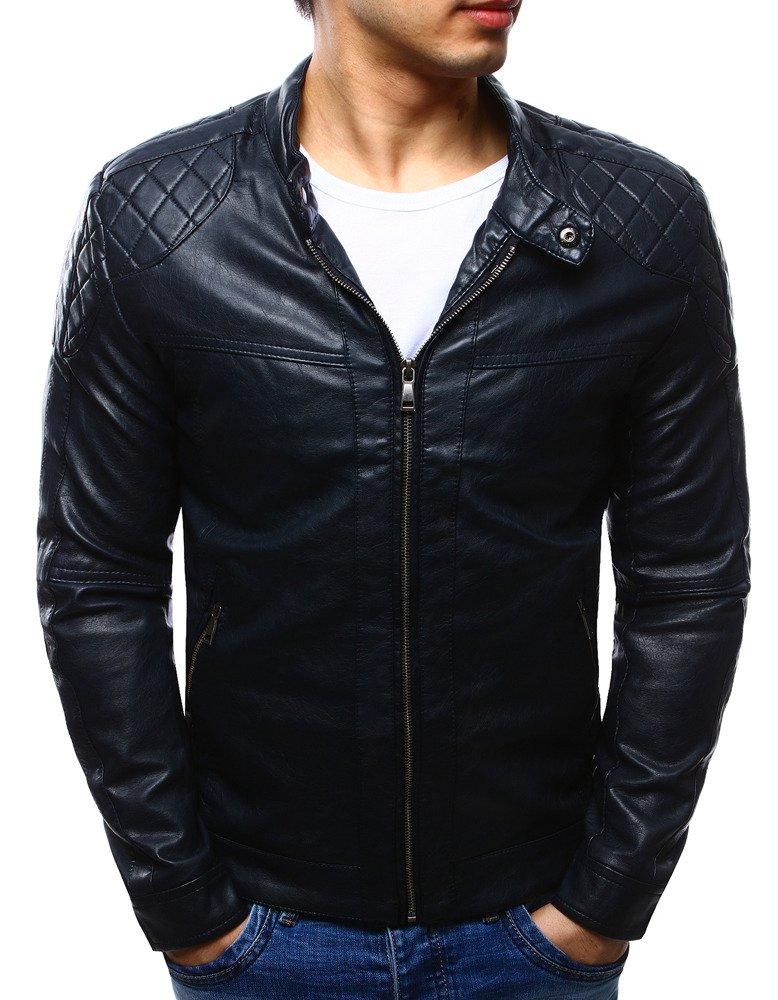 Štýlová koženková pánska bunda (tx1235)
