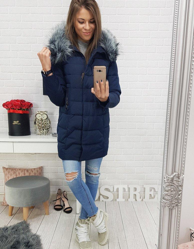 Dámska bunda s kapucňou (ty0408)