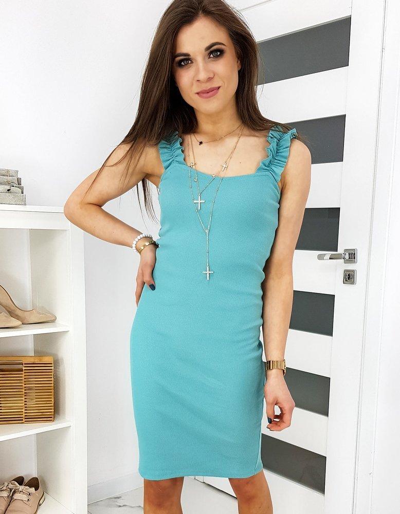 Pekné dámske šaty VINTO morskej farby EY1176