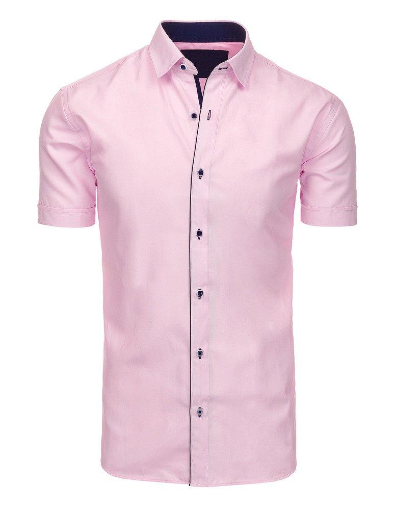 Pánska košeľa Svetlo ružová
