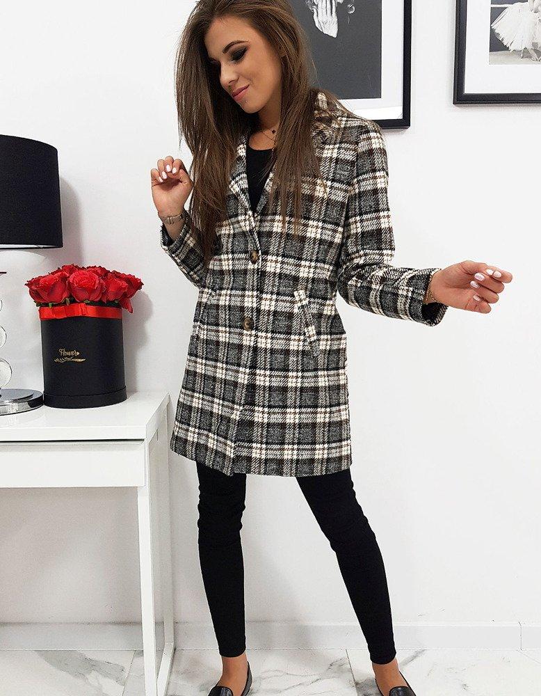 Płaszcz damski w kratę ONLY II NY0280