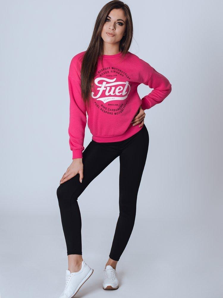 Bluza damska FUEL różowa BY0790
