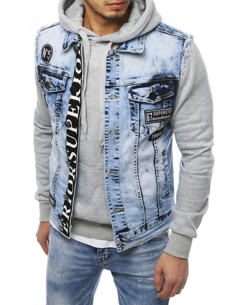 Džínsová pánska vesta TX3241