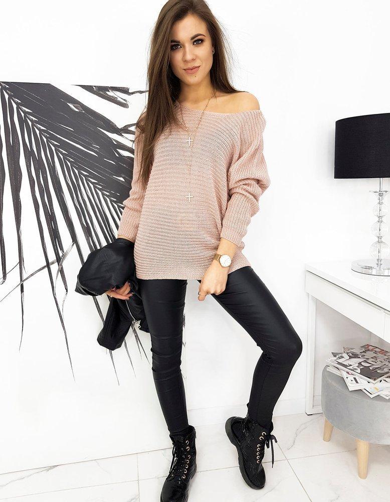 Sweter damski MARLA różowy MY0821