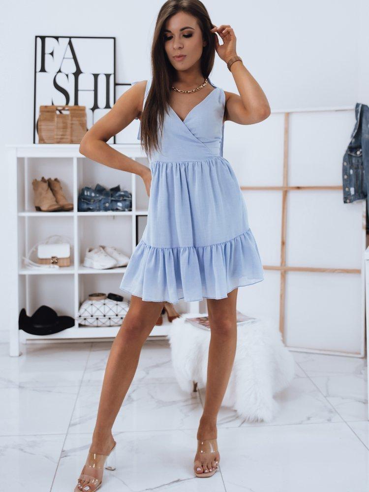 Sukienka JANETT błękitna Dstreet EY1585