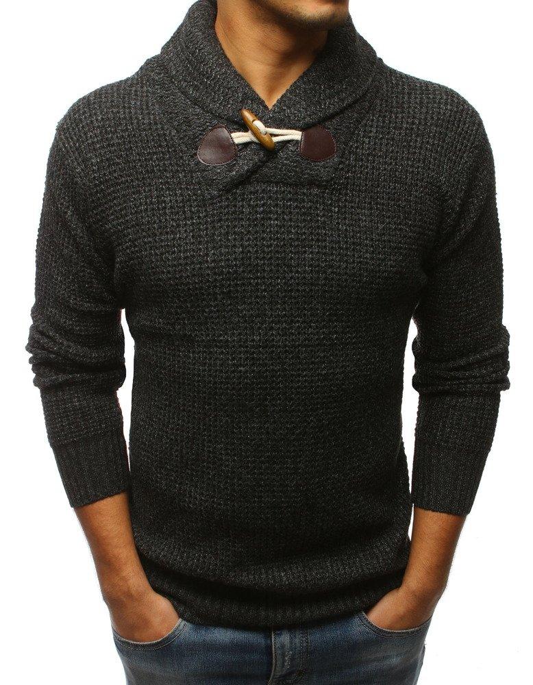 Pánsky sveter čierny
