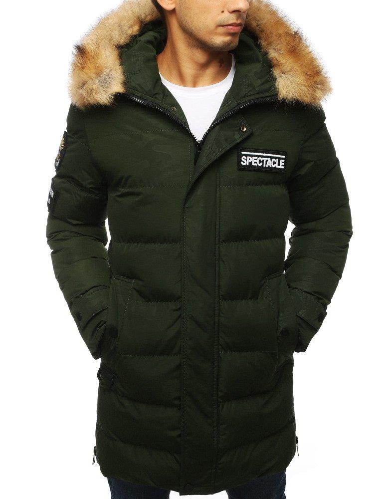 Zimná pánska bunda v módnom prevedení (tx2917)