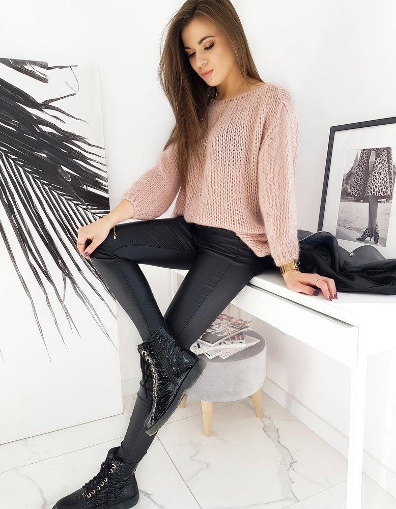Sweter damski HADESA różowy MY0841