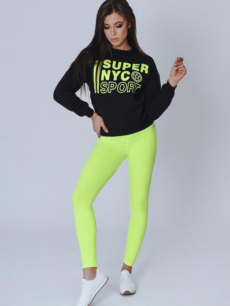 Bluza damska NYC czarna BY0820
