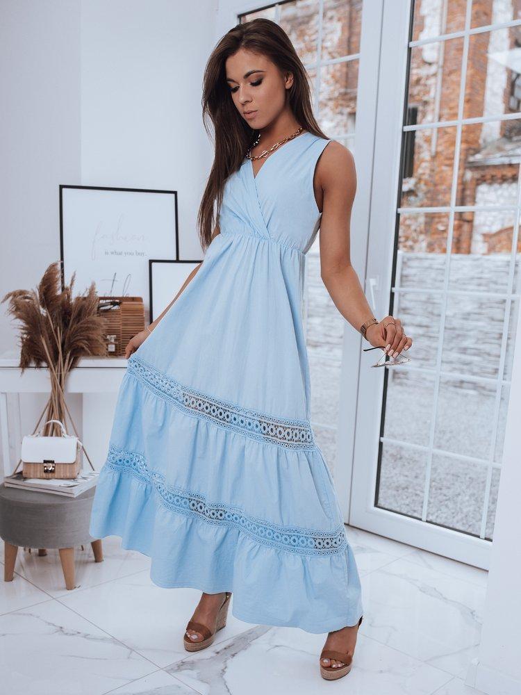 Sukienka DERRA błękitna Dstreet EY1730