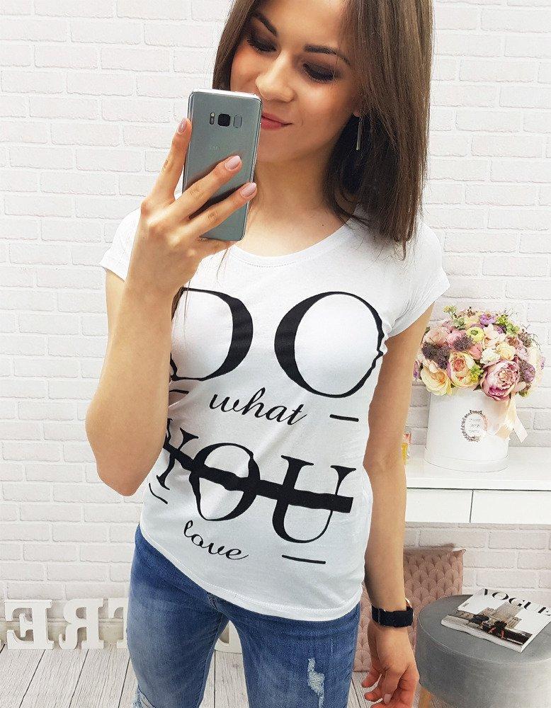 Bavlnené dámske tričko (ry0328)