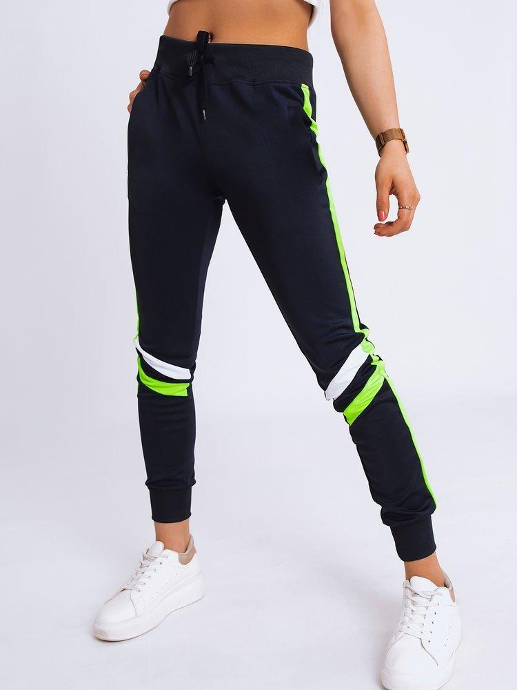 Spodnie damskie dresowe REMI granatowe Dstreet UY0636