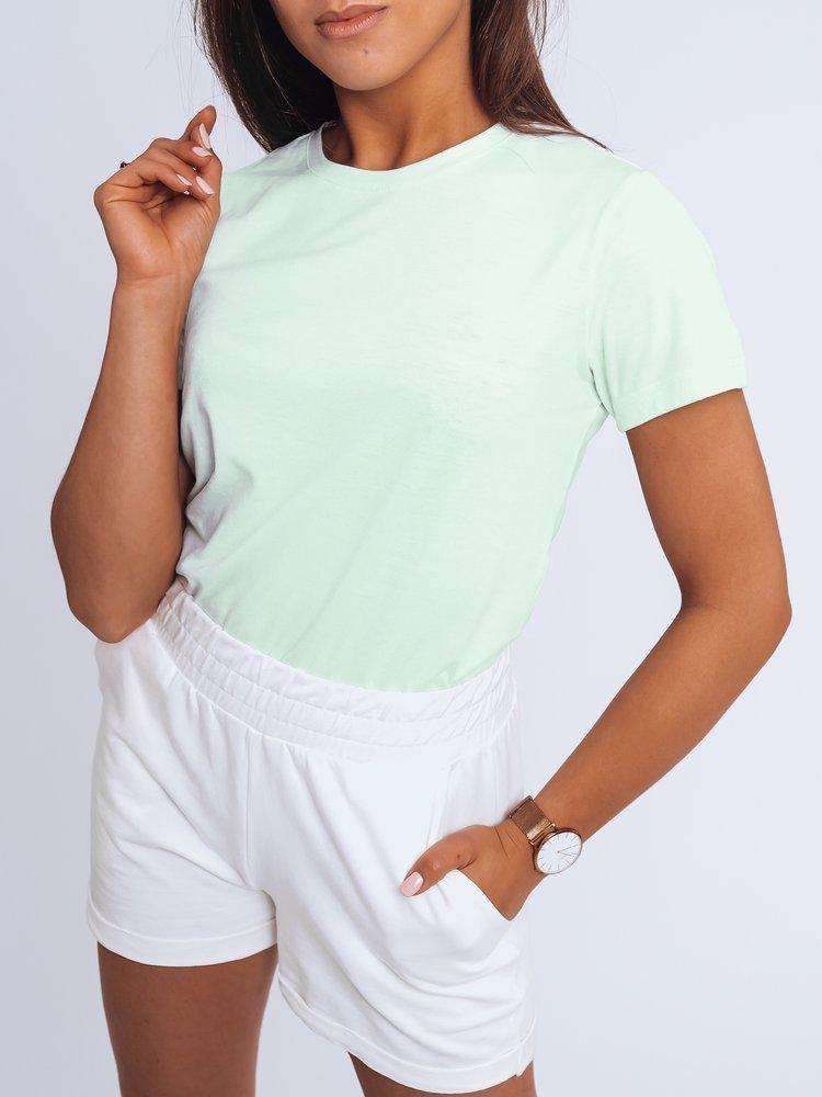 T-shirt damski MAYLA II jasnozielony Dstreet RY1733