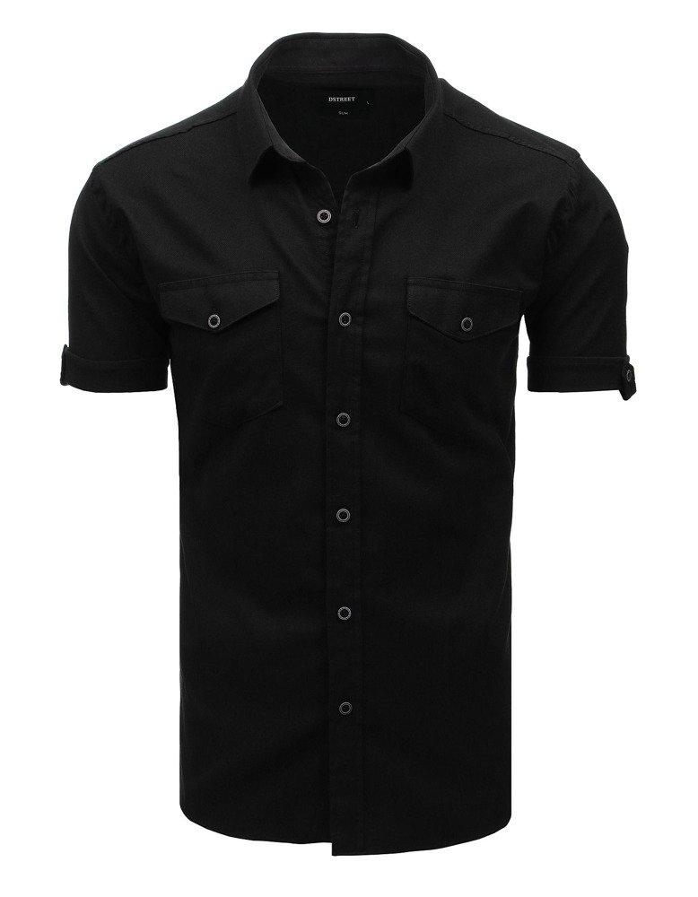 Elegantná košeľa čierna