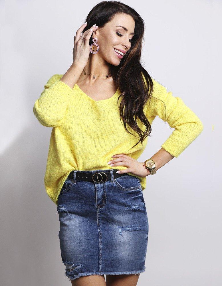Dámsky sveter MILLAU žltý